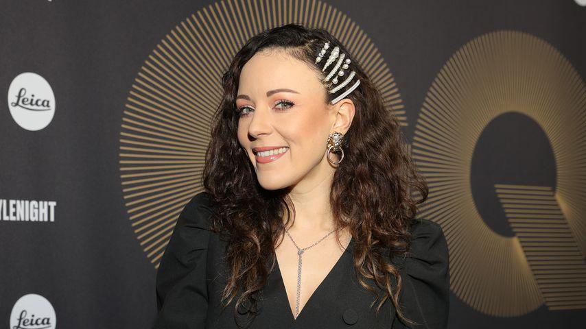 Jasmin Wagner bei der Berlin Fashion Week 2020