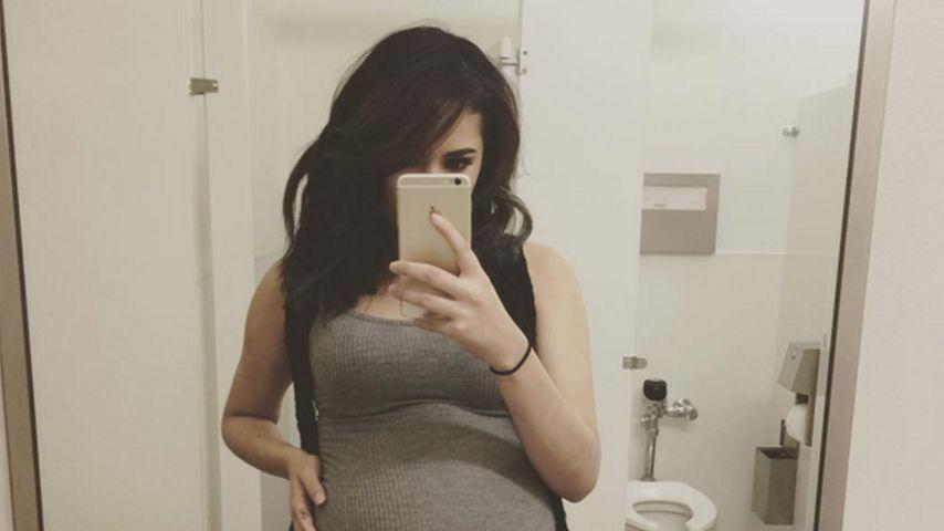 Baby kommt jede Sekunde: Justin Biebers Ex ist bald so weit