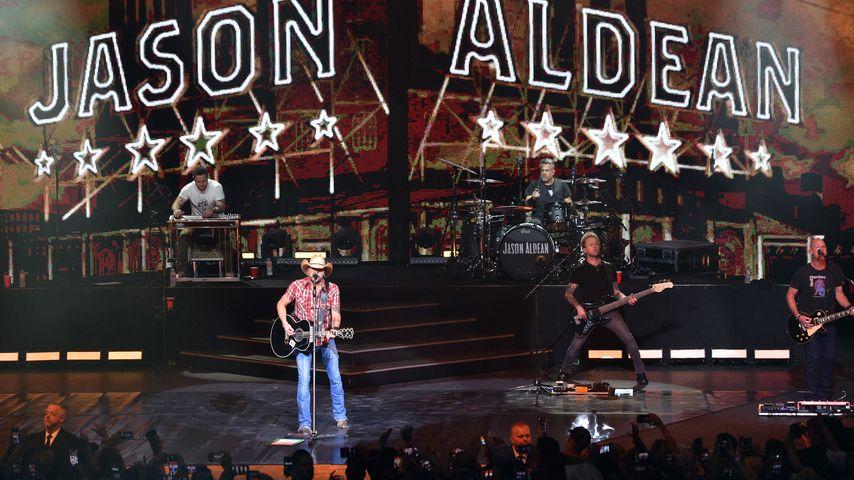 Jason Aldean im Dezember in Las Vegas