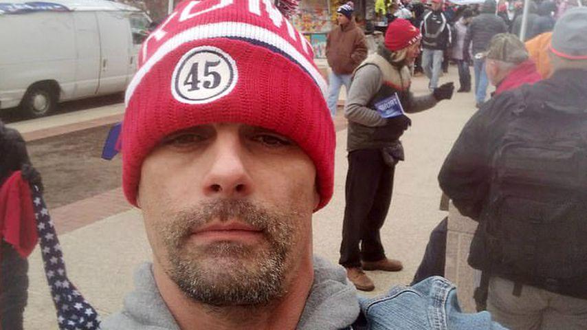 Jason Alexander bei der Pro-Trump-Demo in Washington DC