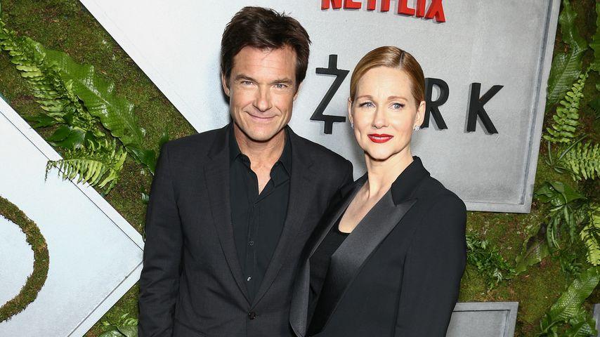 """Jason Bateman und Laura Linney bei der """"Ozark""""-Premiere in New York"""