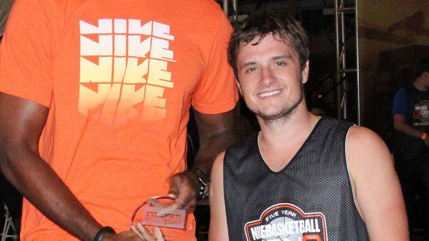 Krasser Kontrast: So klein ist Josh Hutcherson!