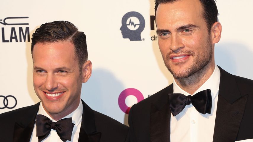 "Jason Landau und Cheyenne Jackson bei Elton Johns ""AIDS Foundation Academy Awards"" 2016"
