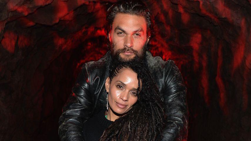 Jason Momoa und Lisa Bonet bei einem Screening in Los Angeles