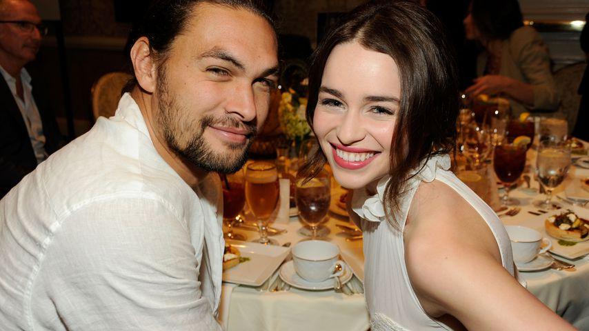 Jason Momoa und Emilia Clarke, Januar 2012