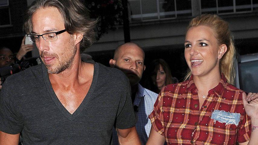 Jason Trawick und Britney Spears 2011