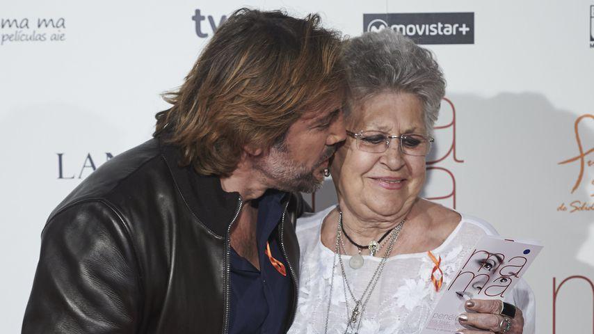 Javier Bardem mit seiner Mutter Pilar