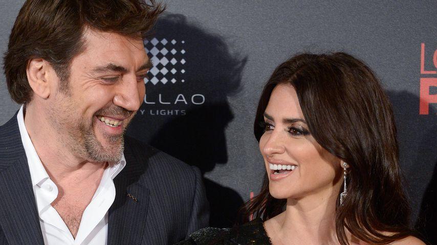 Javier Bardem und Penelope Cruz in Madrid