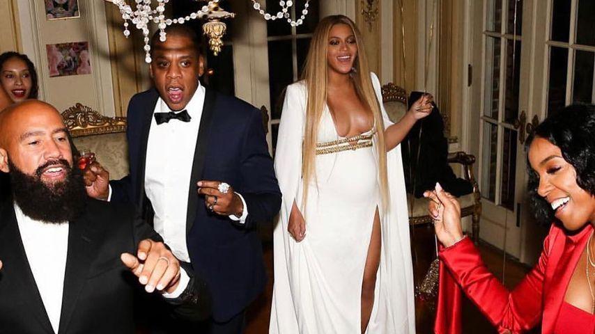 Jay-Z, Beyoncé und Kelly Rowland auf Solanges Post-Grammy-Party