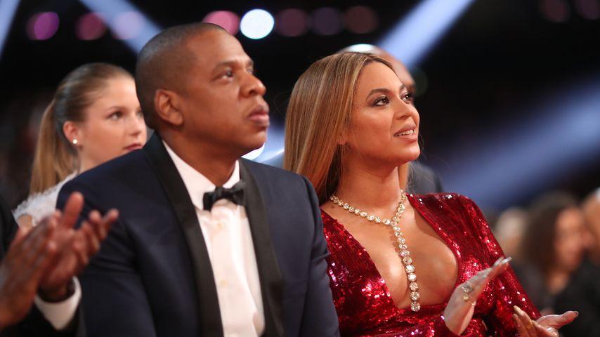 Jay-Z und Beyoncé bei den 59. Grammy Awards