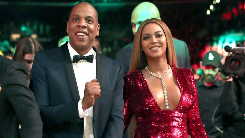 Jay-Z und Beyoncé bei den Grammy Awards in Los Angeles