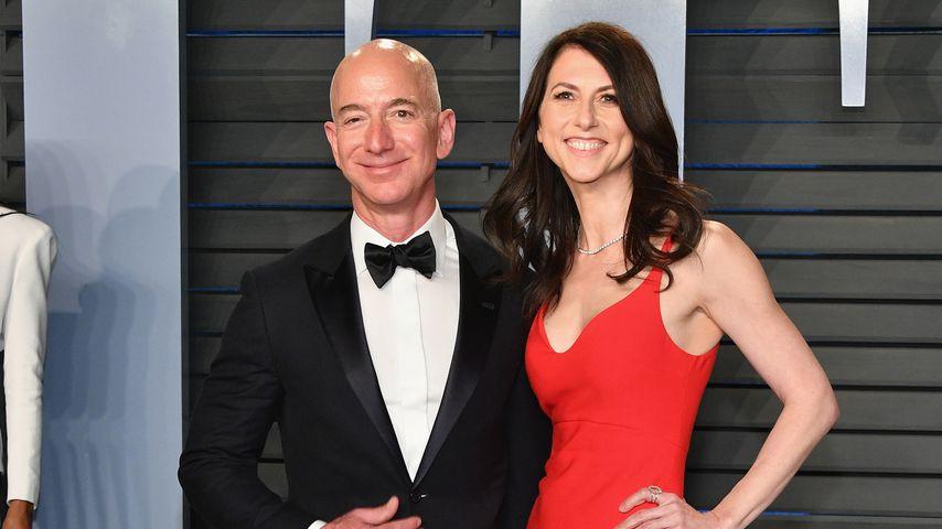 Jeff Bezos und MacKenzie Bezos