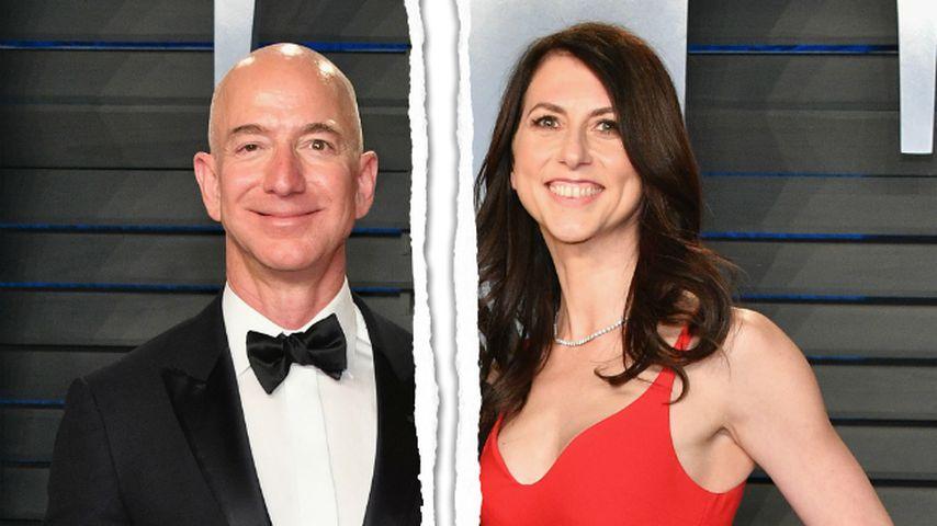 137-Milliarden-Dollar-Scheidung von Amazon-Chef ist durch!