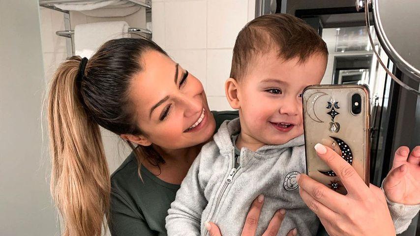 Jenefer Riili mit ihrem Sohn Milan
