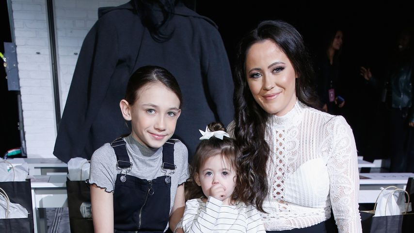 Jenelle Evans mit Tochter Ensley und Stieftochter Maryssa
