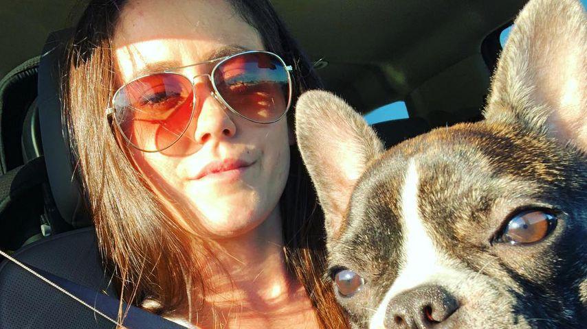 Jenelle Evans und ihr Hund Nugget