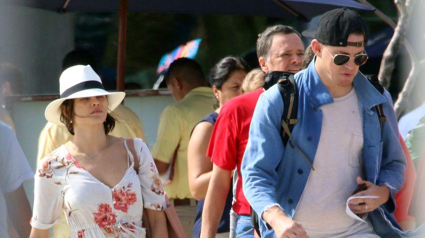 Kurz vor Trennung: Channing & Jenna noch im Mexiko-Urlaub
