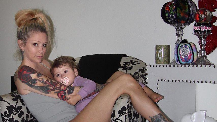 Jenna Jameson mit ihrem jüngsten Sohn