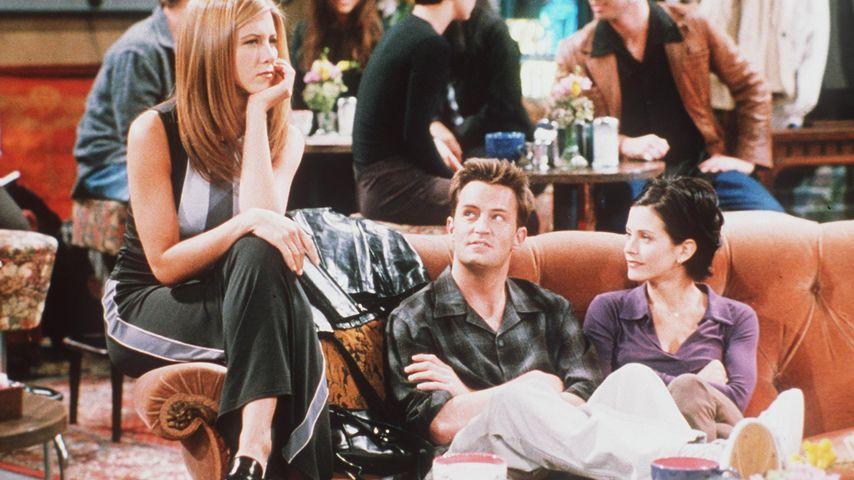 """Jennifer Aniston, Matthew Perry und Courteney Cox in """"Friends"""""""