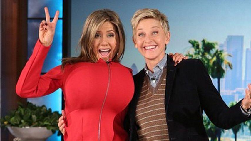 Popo-Antwort: Jennifer Aniston hat riesige Brüste