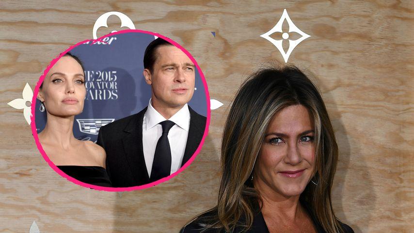 Sorgerechtsstreit: Jennifer Aniston fühlt mit Ex Brad Pitt