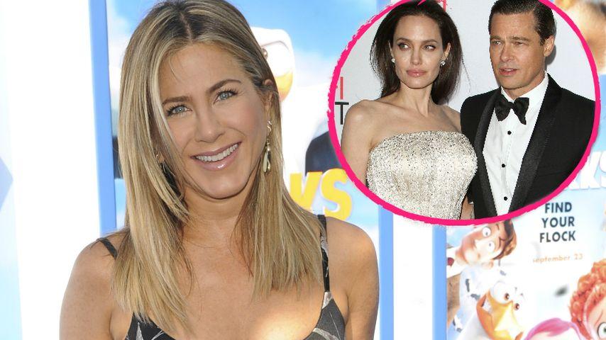 Jennifer Aniston: Öffentlicher Seitenhieb gegen Brad Pitt?