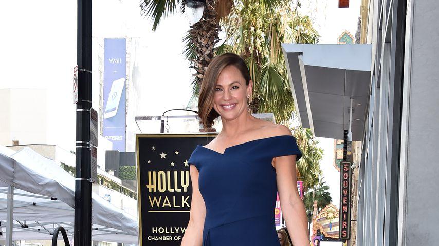 Schauspielerin Jennifer Garner bei der Enthüllung ihres Sterns auf dem Walk of Fame 2018