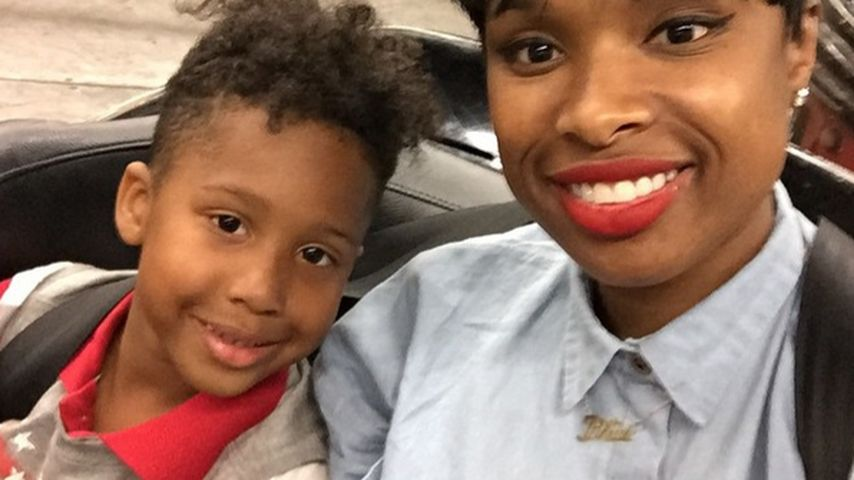 1. Schultag: Jennifer Hudsons Sohn David Jr. ist eingeschult
