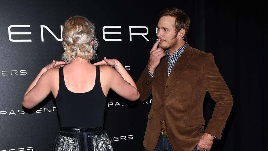 Jennifer Lawrence und Chris Pratt bei der CinemaCon 2016
