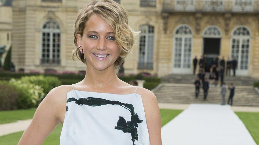 Botschafterin: Jennifer Lawrence bei der Dior-Show