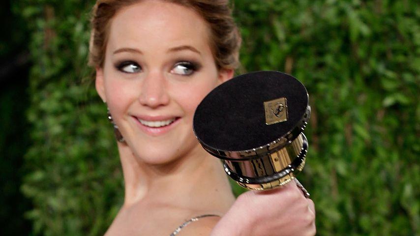 Warum? Jennifer Lawrence gab ihren Oscar weg!