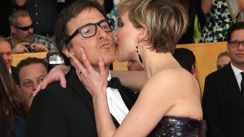 Jennifer Lawrence und David O. Russell