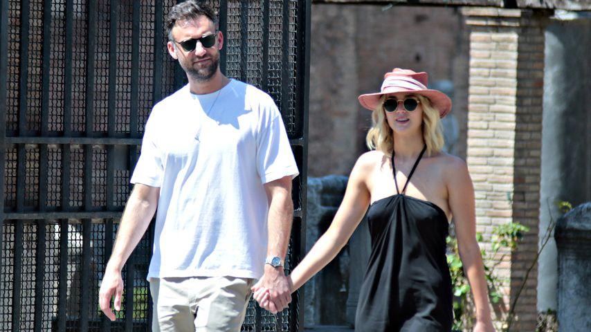 Cooke Maroney und Jennifer Lawrence