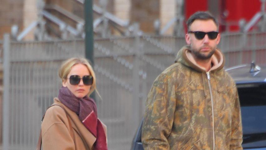 Jennifer Lawrence und Ehemann Cooke verbringen Wellness-Tag