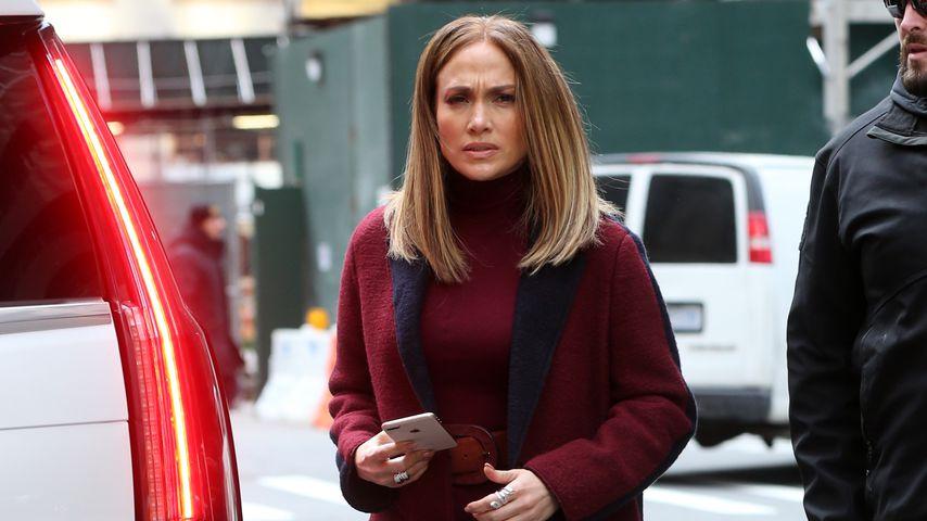 Am Set ihres neuen Films: J.Lo überrascht mit Long Bob