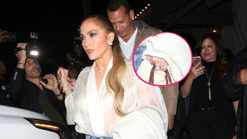 Verlobt mit A-Rod? J.Lo mit verdächtigem Klunker gesichtet!