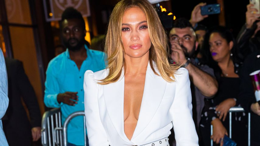 Jennifer Lopez in New York, September 2019