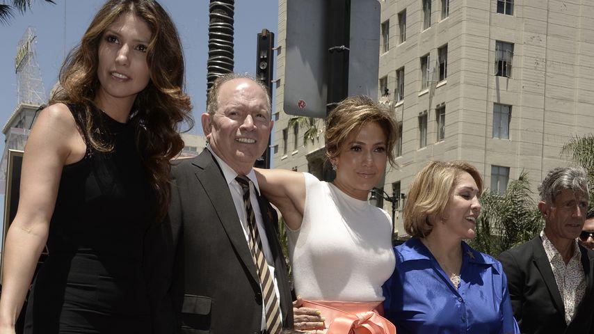 Jennifer Lopez mit ihrer Familie