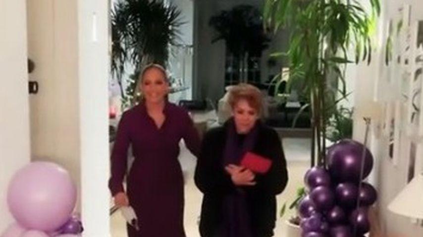 Jennifer Lopez mit ihrer Mutter Guadalupe Rodríguez