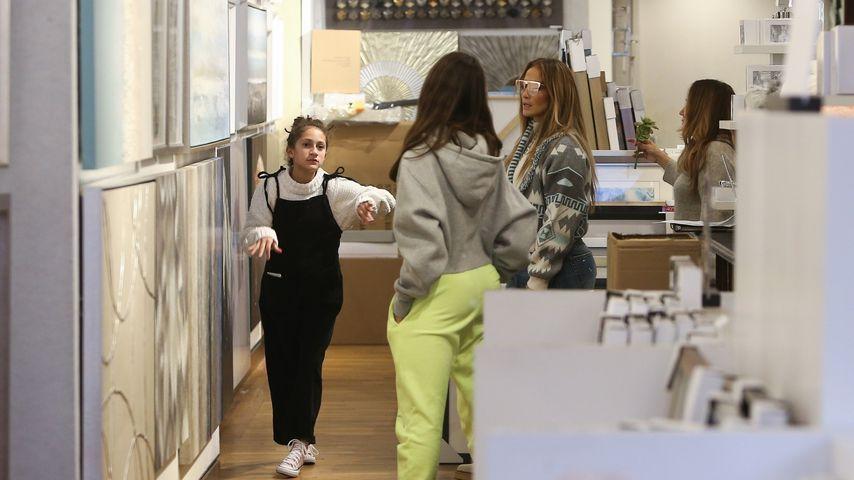Jennifer Lopez mit ihrer Tochter Emme