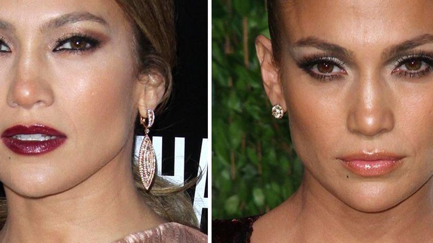 Jennifer Lopez: Ein Gesicht, verschiedene Looks