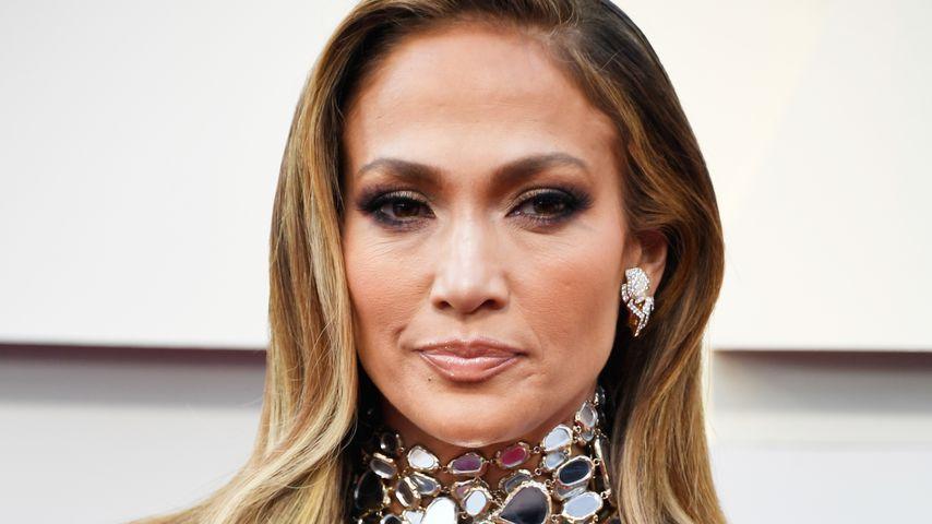 Sängerin Jennifer Lopez bei der Oscar-Verleihung 2019