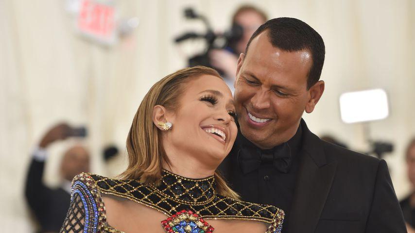 Jennifer Lopez und Alex Rodríguez 2018
