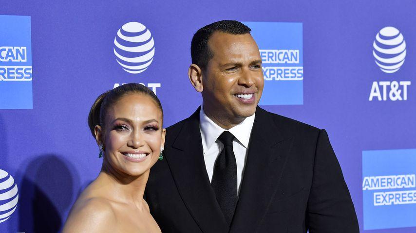 Jennifer Lopez und Alex Rodriguez im Januar 2020