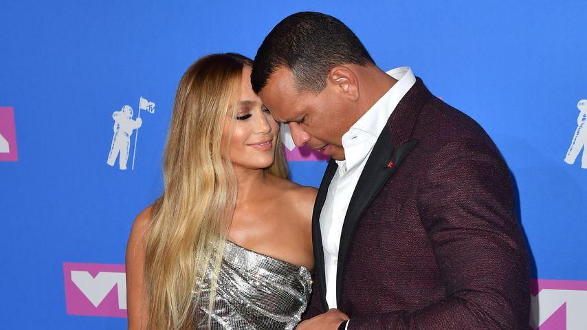 Jennifer Lopez und Alex Rodriguez im August 2018 in New York City