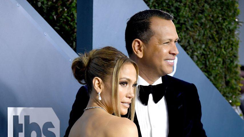Jennifer Lopez und Alex Rodríguez im Januar 2020