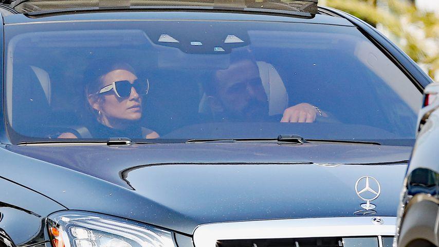 Jennifer Lopez und Ben Affleck, 2021 in Los Angeles