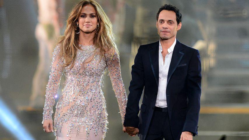 Nach Trennungsgerüchten: Jennifer Lopez facetimt mit Ex-Mann