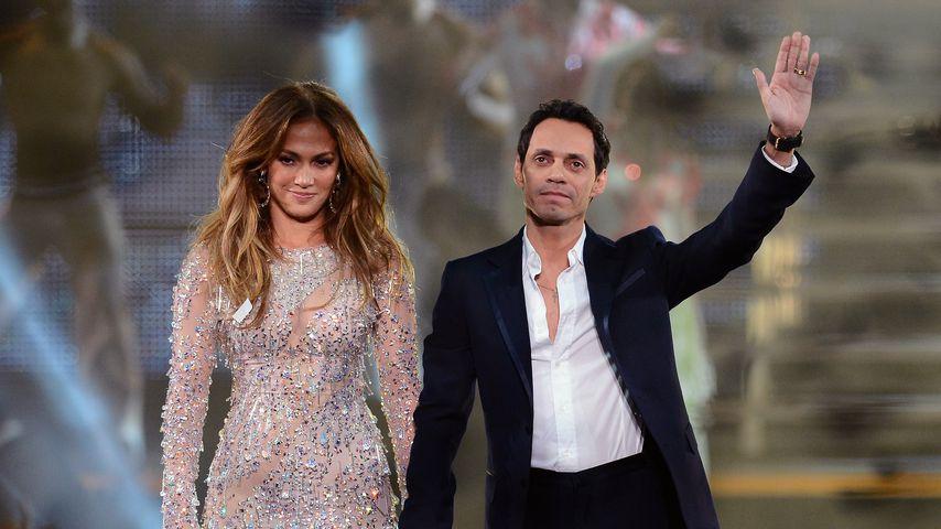 Jennifer Lopez und Marc Anthony im Jahr 2012