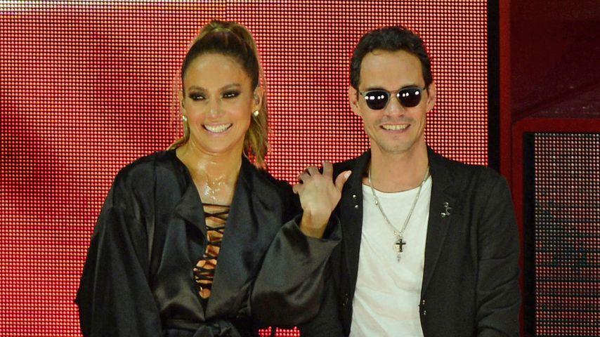 Jennifer Lopez und Marc Anthony in Miami